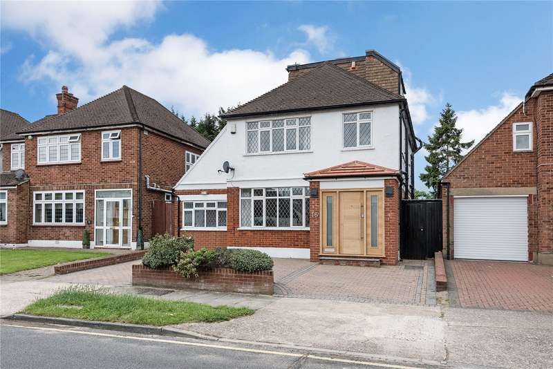 4 Bedrooms Detached House for sale in Dovercourt Gardens, Stanmore, HA7