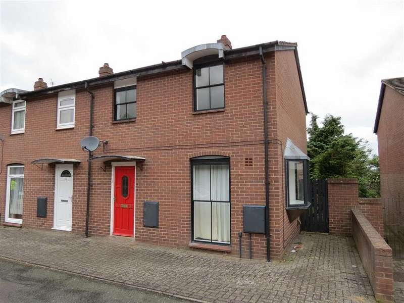 3 Bedrooms End Of Terrace House for sale in Crewe Street, Off St Michaels Street, Shrewsbury, Shropshire