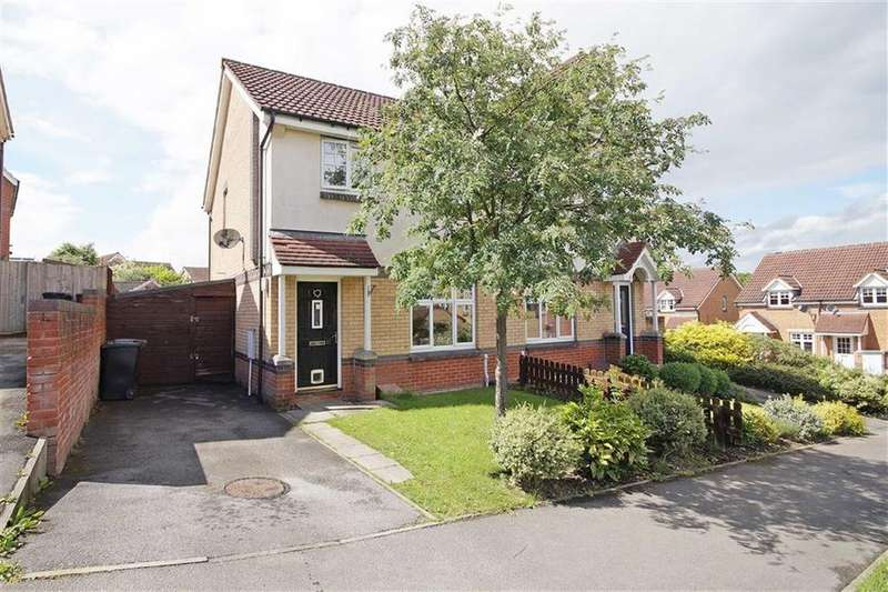 3 Bedrooms Semi Detached House for sale in Clover Way, Harrogate, North Yorkshire