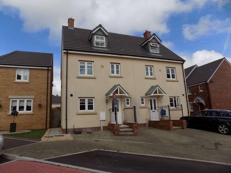 4 Bedrooms Semi Detached House for sale in Ffordd Y Grug , Coity, Bridgend. CF35 6BQ