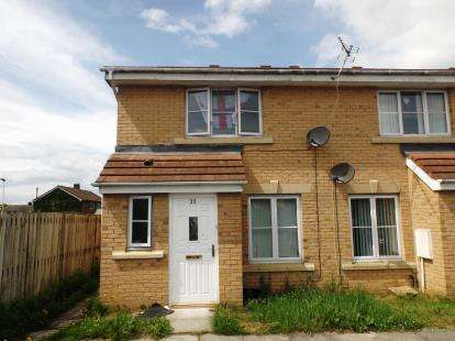 3 Bedrooms End Of Terrace House for sale in Blackmoor Close, Darlington, County Durham
