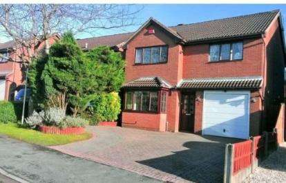 4 Bedrooms Detached House for sale in Newlands Lane, Heath Hayes, Cannock, Staffordshire