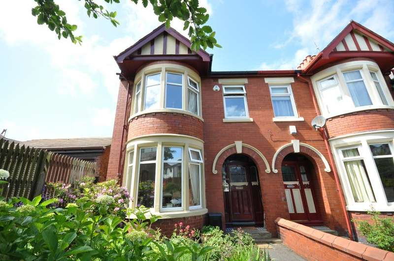 3 Bedrooms End Of Terrace House for sale in Ridgwood Avenue, Blackpool, Lancashire, FY3 8EL