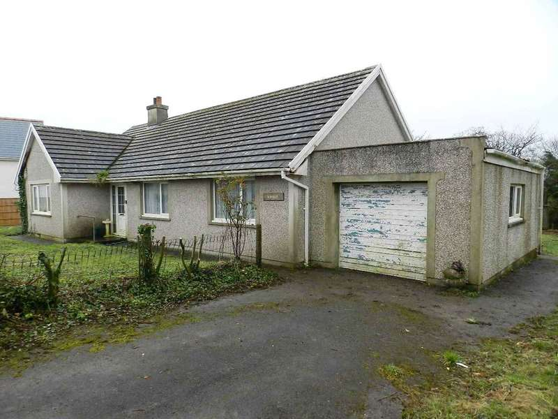 3 Bedrooms Detached Bungalow for sale in Talsfield, Keeston, Haverfordwest, Pembrokeshire
