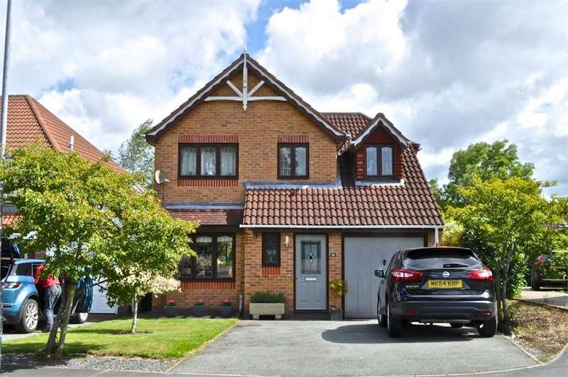 3 Bedrooms Detached House for sale in Blandford Drive, Kingsmead, Northwich, Cheshire