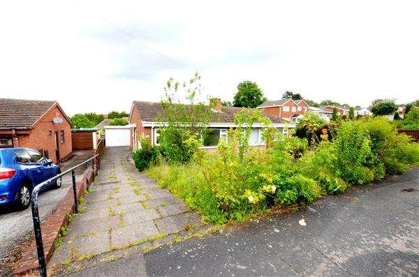 2 Bedrooms Semi Detached Bungalow for sale in Walton Way, Talke, Stoke-On-Trent