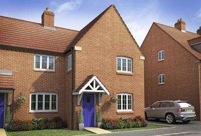 3 Bedrooms Terraced House for sale in The Brackens, Radstone Fields, Halse Road, Brackley
