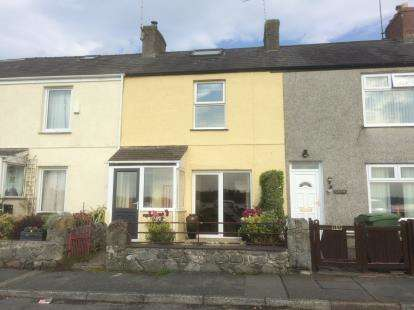 2 Bedrooms Terraced House for sale in Beach Road, Y Felinheli, Gwynedd, LL56