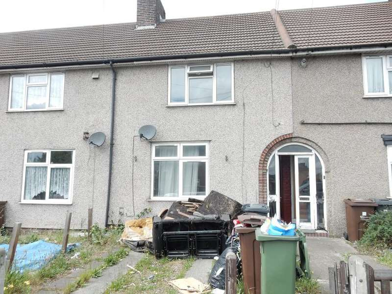 2 Bedrooms Terraced House for sale in Lodge Avenue, Dagenham, Essex, RM9 4QR