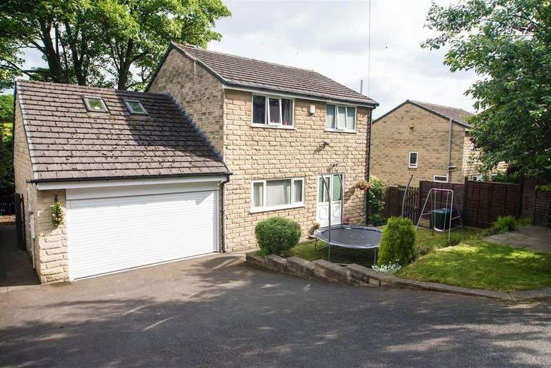 3 Bedrooms Detached House for sale in Weavers Walk, Wakefield Road, Denby Dale, HD8 8SS