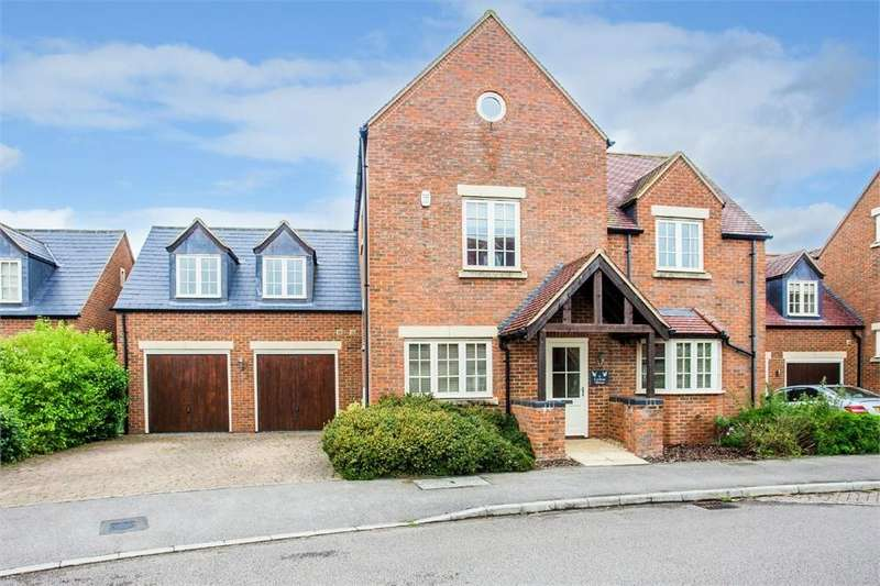 5 Bedrooms Detached House for sale in Hanslope, MILTON KEYNES, Buckinghamshire