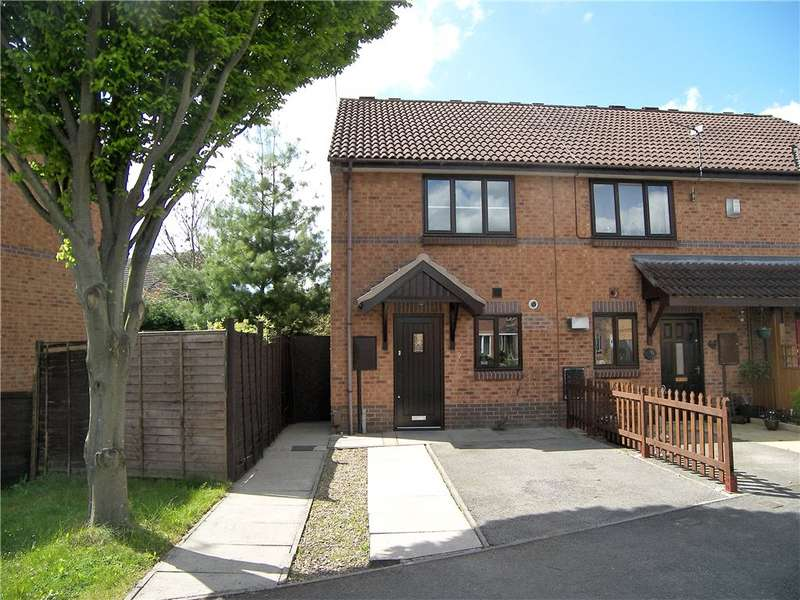 2 Bedrooms End Of Terrace House for sale in Swallowdale Road, Sinfin, Derby, Derbyshire, DE24
