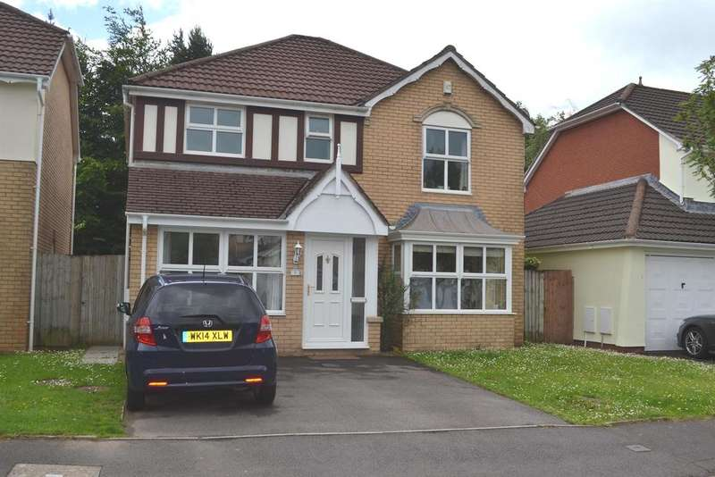 4 Bedrooms Detached House for sale in Maes Y Briallu, Morganstown, Cardiff