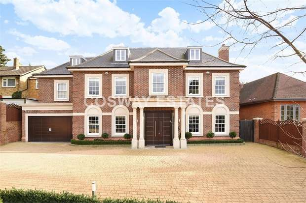 7 Bedrooms Detached House for sale in Uphill Road, Mill Hill
