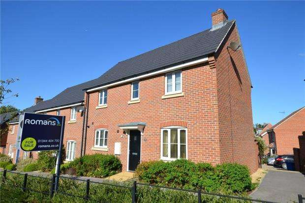 3 Bedrooms End Of Terrace House for sale in Crutchley Wood, Bracknell, Berkshire