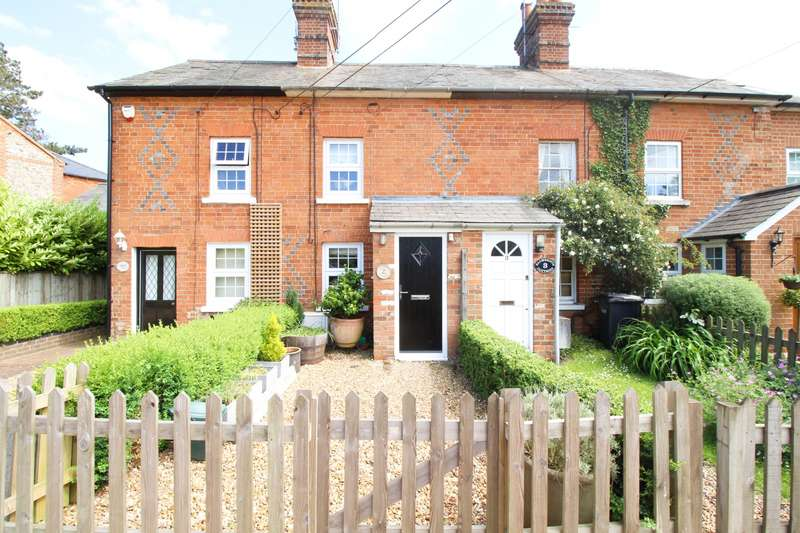 2 Bedrooms Terraced House for sale in Allwrights Cottages, Horsepond Road, Gallowstree Common, RG4
