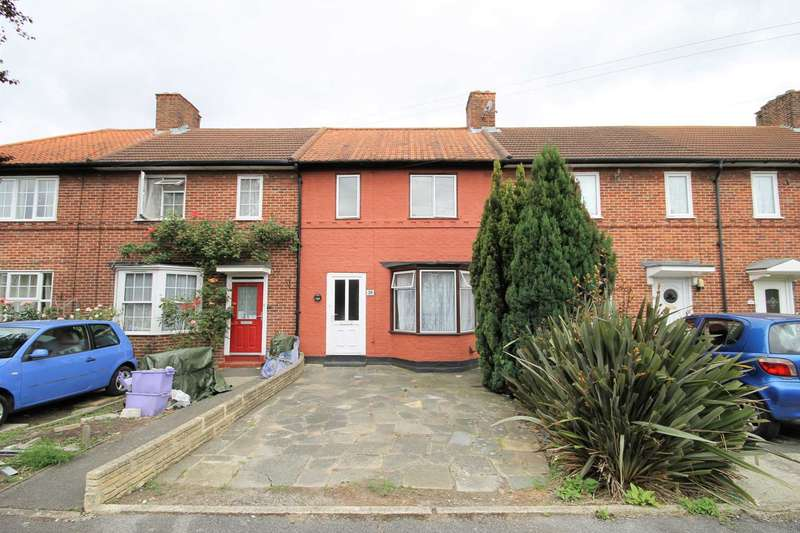 3 Bedrooms Terraced House for sale in Evesham Road, Morden