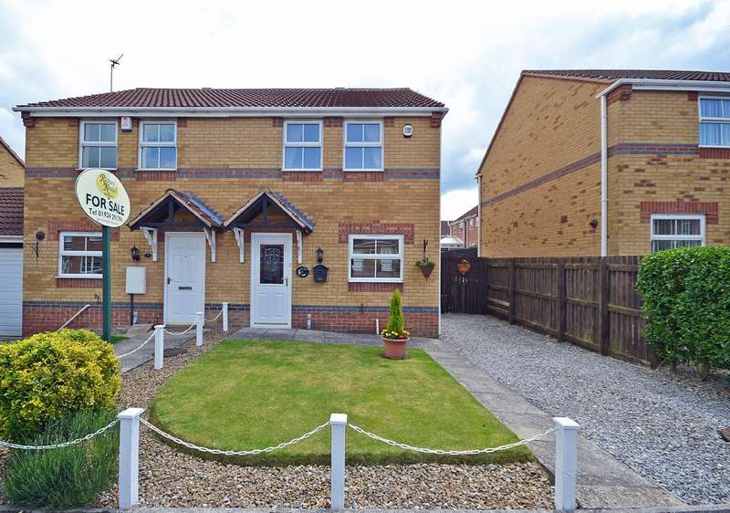 3 Bedrooms Semi Detached House for sale in Hemmingway Close, Havercroft, Wakefield
