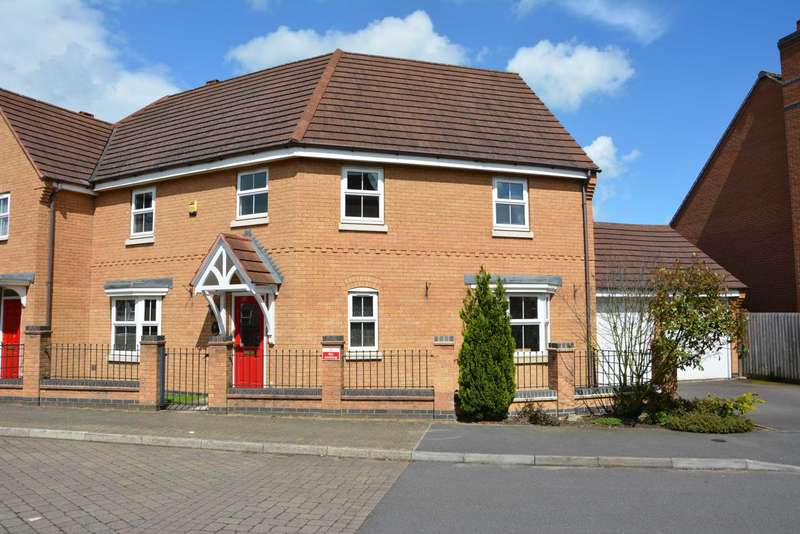 4 Bedrooms Semi Detached House for sale in Crackthorne Drive, Coton Meadows