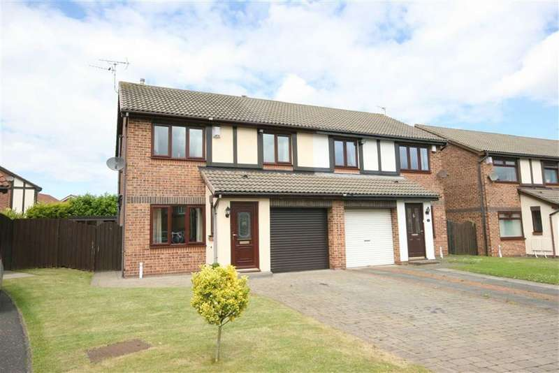 3 Bedrooms Semi Detached House for sale in Abbots Way, North Shields, Tyne & Wear, NE29