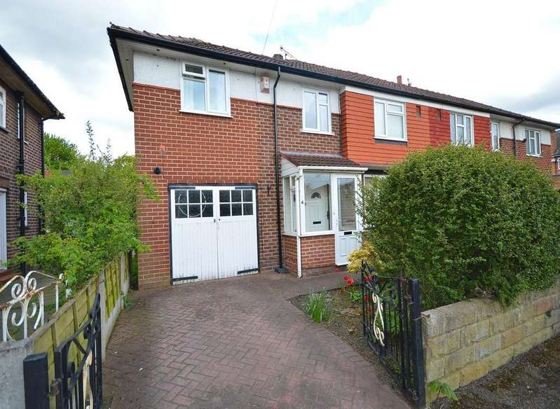 4 Bedrooms Semi Detached House for sale in Dryden Avenue, Cheadle