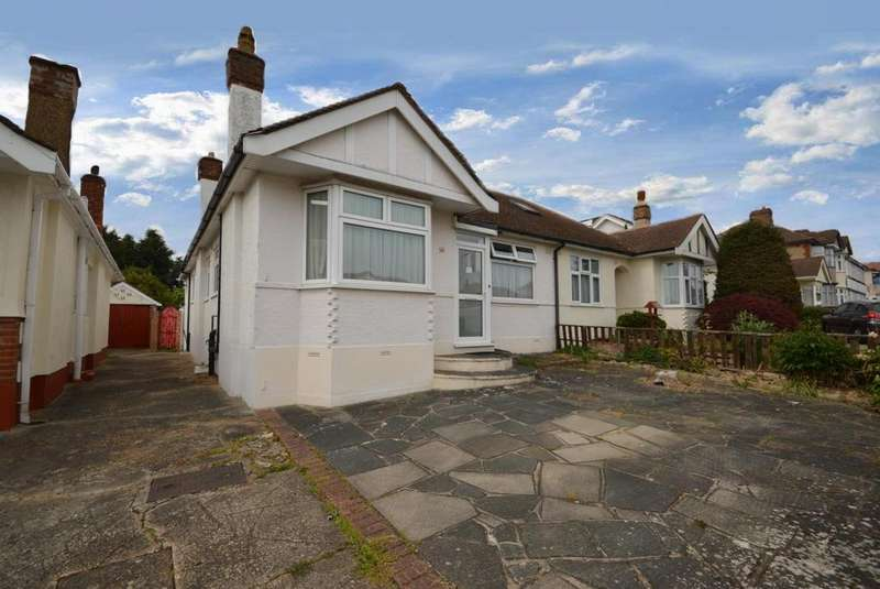 4 Bedrooms Semi Detached Bungalow for sale in Hacton Drive, Hornchurch, Essex, RM12