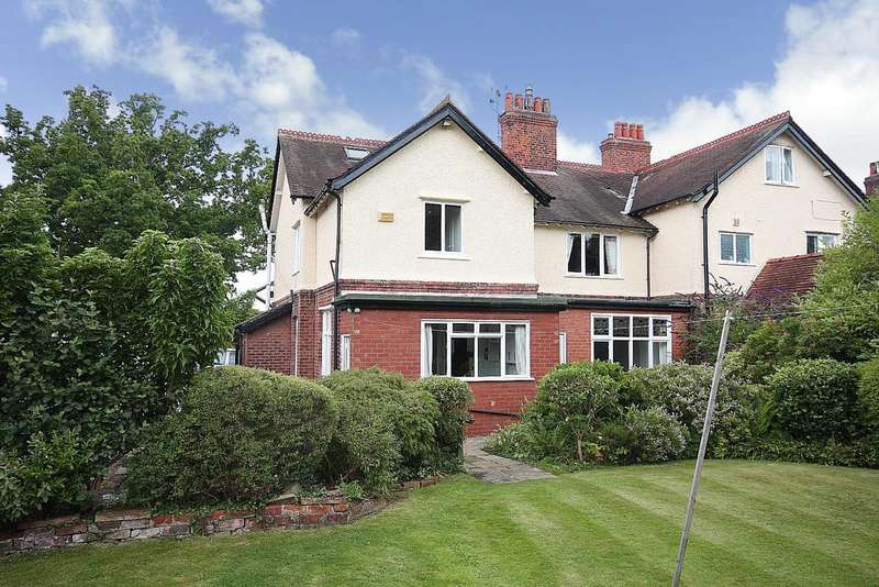 4 Bedrooms Semi Detached House for sale in Manchester Road, Wilmslow