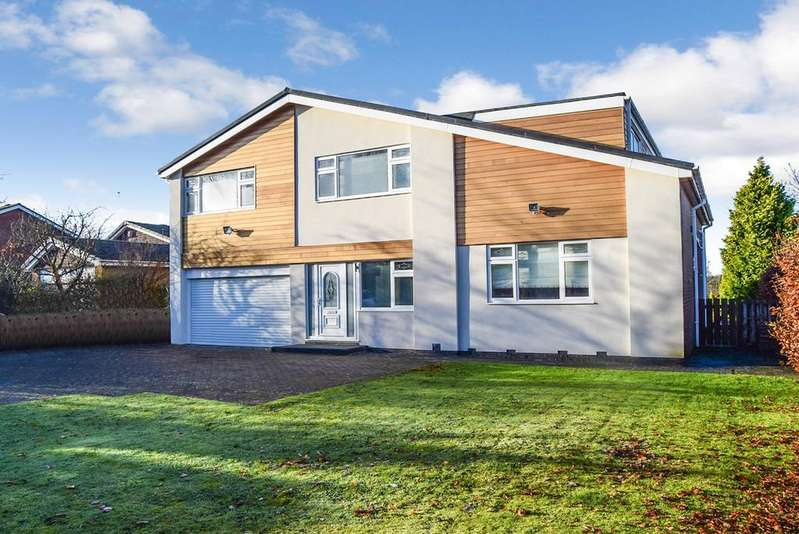 5 Bedrooms Detached House for sale in Avondale Road, Darras Hall, Ponteland, Newcastle upon Tyne, NE20