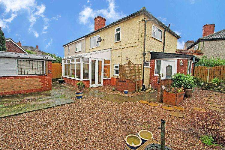 3 Bedrooms Semi Detached House for sale in West Vale Grove Rotherham South Yorkshire