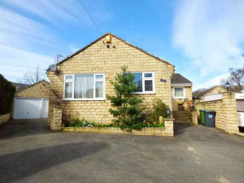 3 Bedrooms Detached Bungalow for sale in Riverside, Clayton West, Huddersfield, HD8