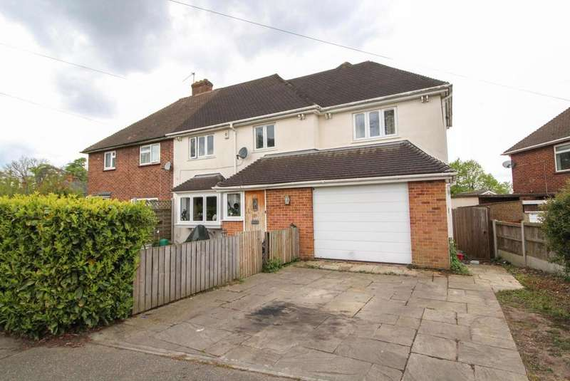 5 Bedrooms Semi Detached House for sale in Hampden Crescent, Warley, Brentwood, Essex, CM14
