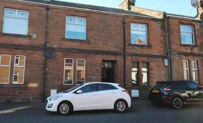 2 Bedrooms Flat for sale in Loudoun Street, Mauchline