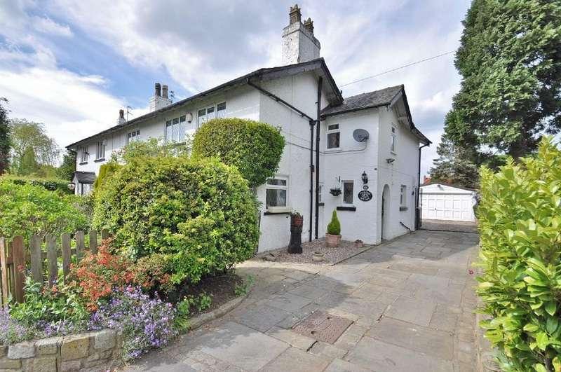3 Bedrooms Semi Detached House for sale in Bramhall Moor Lane, Hazel Grove