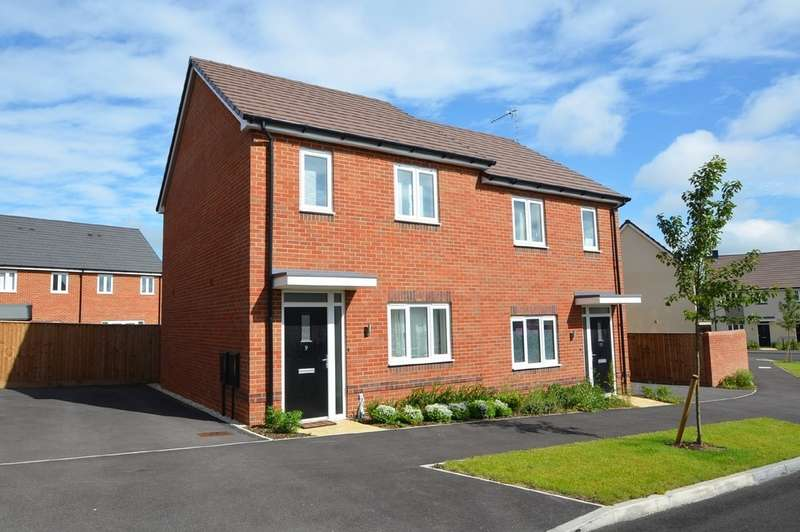 2 Bedrooms Semi Detached House for sale in Bell Road, Rugby