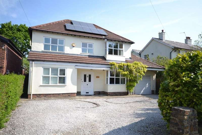 4 Bedrooms Detached House for sale in Moss Road, Alderley Edge
