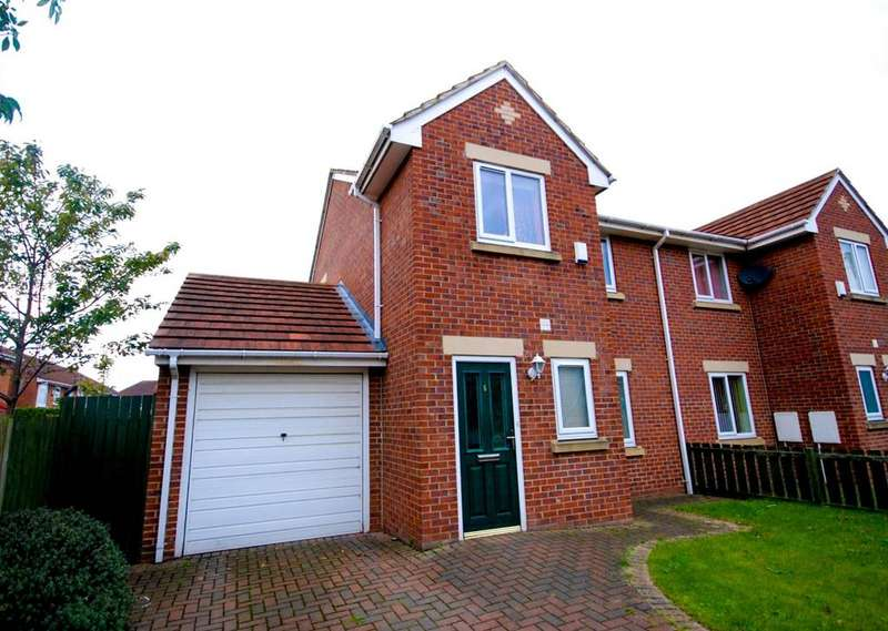3 Bedrooms Semi Detached House for sale in Ravensworth Road, Birtley
