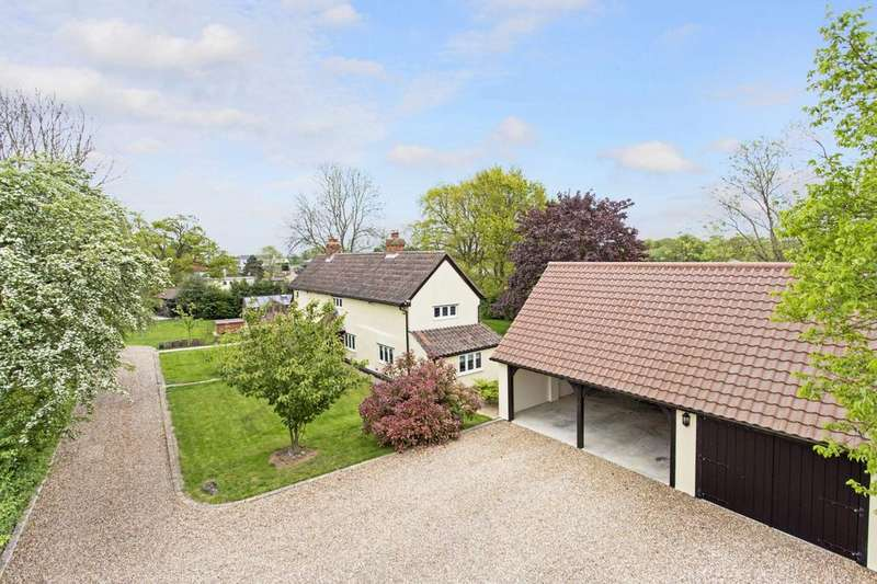 4 Bedrooms Detached House for sale in Gubbions Green, Great Leighs, Chelmsford, Essex, CM3
