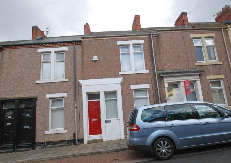 3 Bedrooms Terraced House for sale in Marshall Wallis Road, South Shields