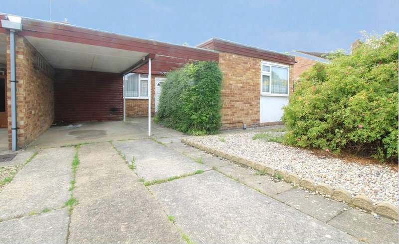 2 Bedrooms Semi Detached Bungalow for sale in Brinkley Crescent, Colchester, Essex, CO4