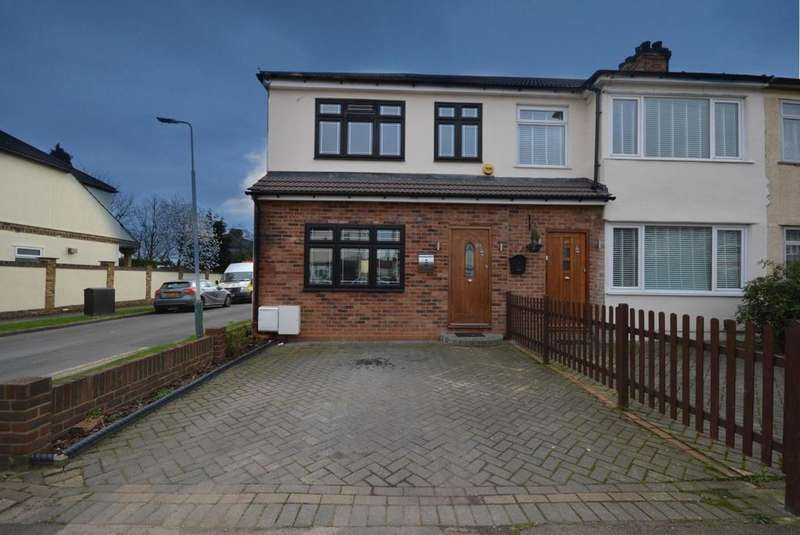 3 Bedrooms End Of Terrace House for sale in Chestnut Avenue, Hornchurch, Essex, RM12