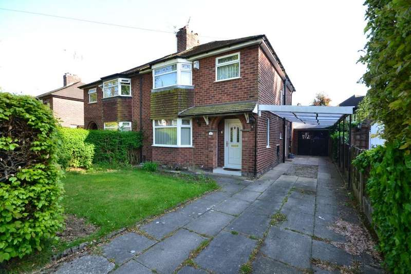3 Bedrooms Semi Detached House for sale in Woodburn Road, Northenden