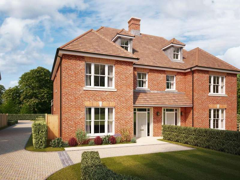 4 Bedrooms Semi Detached House for sale in Buchanan's Place, Winchester