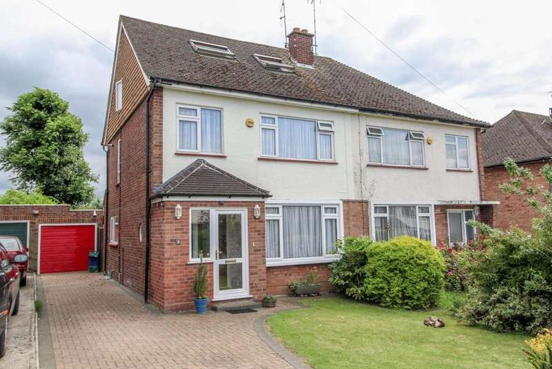5 Bedrooms Semi Detached House for sale in Bowes Drive, Ongar, Essex, CM5