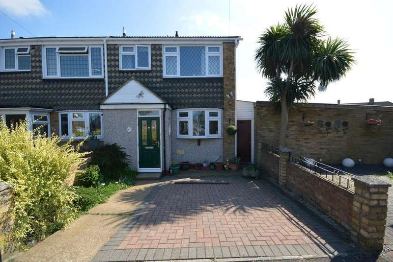 3 Bedrooms End Of Terrace House for sale in Blake Close, Rainham, Essex, RM13