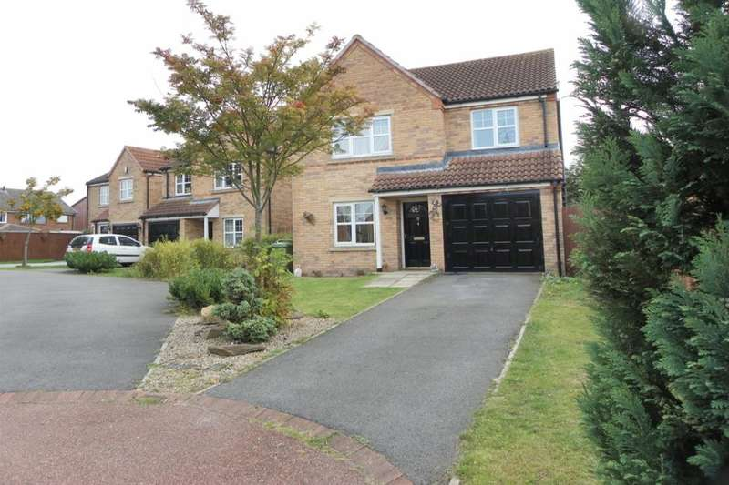 4 Bedrooms Detached House for sale in Hunters Green, Eaglescliffe, Stockton-On-Tees, TS16
