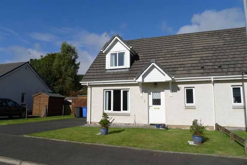 2 Bedrooms Semi Detached House for sale in Glen Court, Brodick