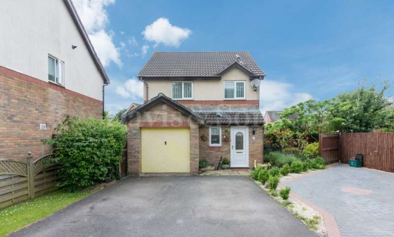 3 Bedrooms Detached House for sale in Sir Charles Crescent, Off Morgan Way, Newport. NP10 8QE