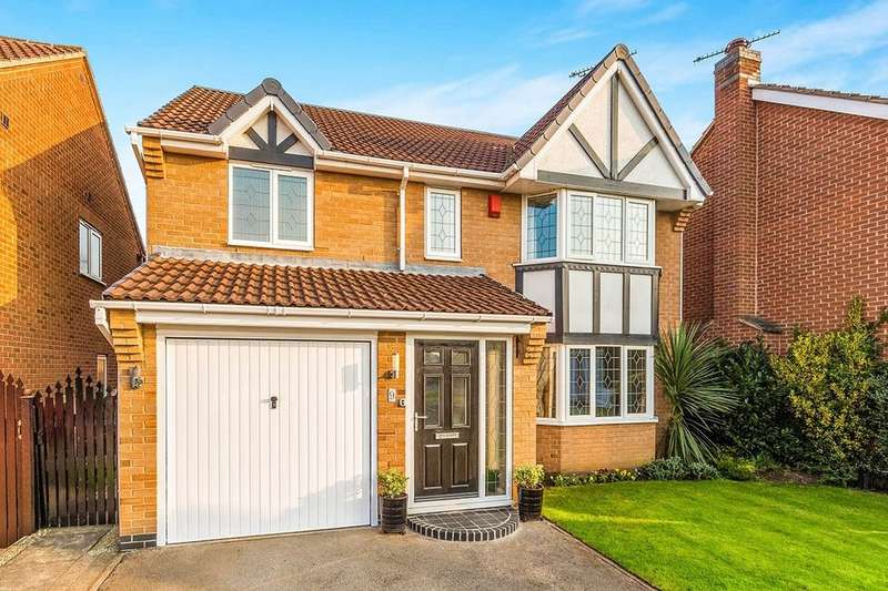 4 Bedrooms Detached House for sale in Kestrel Drive, Adwick-Le-Street, Doncaster, DN6
