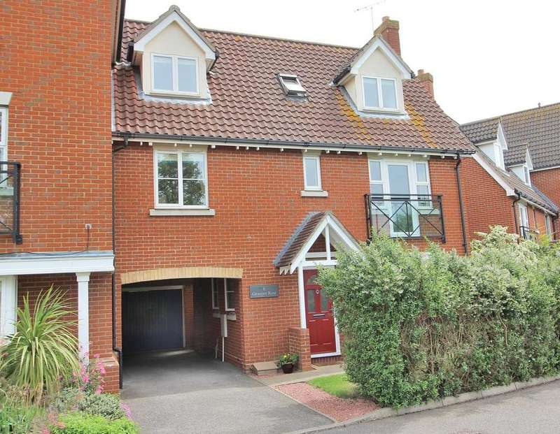 4 Bedrooms Link Detached House for sale in Granger Row, Chelmsford, Essex, CM1