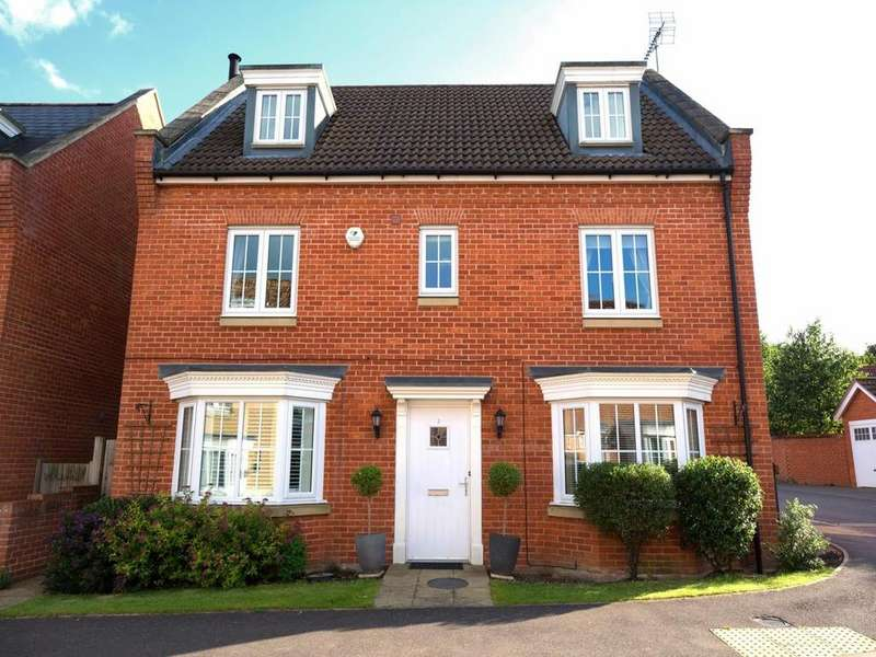 5 Bedrooms Detached House for sale in Parker Way, Little Canfield, Dunmow, Essex, CM6